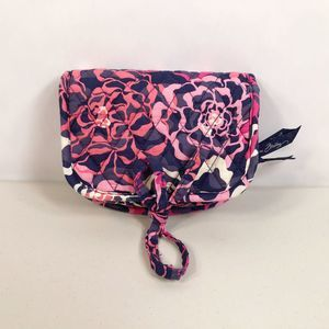 Vera Bradley All Wrapped Up Jewelry Case Pink